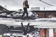 Reflect (skye-skye) Tags: reflect reflection reflected gib kid kids child children teen teens teenager teenagers water pool car vehicle auto automobile georgia chamblee atlanta atlantageorgia walk walking photowalk edit editing photoshop beginner adventure pond puddle puddles photographer photographing vintage filter mono chrome monochrome