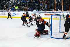 "Kansas City Mavericks vs. Ft. Wayne Komets, March 2, 2018, Silverstein Eye Centers Arena, Independence, Missouri.  Photo: © John Howe / Howe Creative Photography, all rights reserved 2018 • <a style=""font-size:0.8em;"" href=""http://www.flickr.com/photos/134016632@N02/40598288632/"" target=""_blank"">View on Flickr</a>"