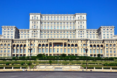 Parliament Palace (Gedsman) Tags: romania europe bucharest wallachia history historical tradition traditional capital beauty travel blueskies modern architecture