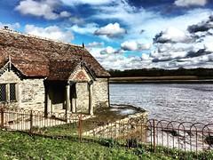 The bathing hut..... (ryanelliott5) Tags: rivertamar river water cornwall boathouse bathinghut pentilliecastle