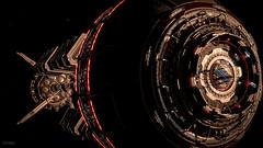 Elite Dangerous / Shined Upon (Stefans02) Tags: elite dangerous simulation combat space system planet planets frontier developments spaceship pilot open world orbit spacestation station horizons milky way downsampling hotsampling hotsampled screenshot screenshots digital art image beautiful 4k atmosphere sun black background tangle red dwarf ring asteroids asteroid monochrome hangar earth sky virtual virtualphotography videogames screencapture pcgaming night societyofvirtualphotographers gaming environment environments milkywaywednesday wallpaper wallpapers