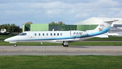 G-XJET (AnDyMHoLdEn) Tags: bombardier learjet airambulance egcc airport manchester manchesterairport 23l