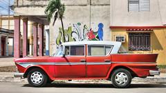 CUBA Morón Coche Rojo (stega60) Tags: cuba cienfuegos coche rojo car red oldtimer old hdr stega60