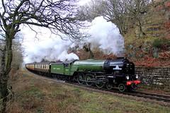 60163 'Tornado' - NYMR - 2018-03-06 (BillyGoat75) Tags: lner a1 60163 tornado steamengine locomotive beckhole northyorkshiremoorsrailway nymr heritagerailway