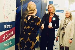 Presentation of the 'Women of Europe' Award to Federica Mogherini, Vice-President of the EC, March 2018