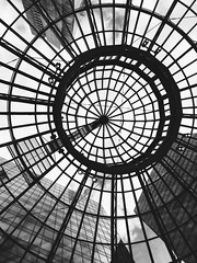#iPhone #iphoneography #phoneography #bnw #blackandwhite #sky #city #abstract #abstractphotography #vancouver #streetphotography #bnwstreetphotography #architecture #mall #clouds #window (Alex A Frost) Tags: iphone iphoneography phoneography bnw blackandwhite sky city abstract abstractphotography vancouver streetphotography bnwstreetphotography architecture mall clouds window