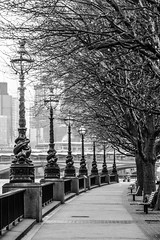 London in March (ingriddemaerschalk) Tags: 7daysofshooting week40 lighting blackandwhitewednesday