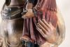Mare de Déu de Tornabous o de l'Esperança o de l'Assumpció (Ramon Oromí Farré @sobreelterreny) Tags: tornabous santamariadetornabous sculpture escultura gòtic gótico gothic art artist stone pedra piedra detalles detalls details bisbatdurgell marededeus vírgenes virgin mans hands manos escoladelleida colorful heritage patrimoni patrimonio medieval catalunyamedieval jaumecastalls urgell catalunya catalonia catalogne cataluña antique antiguo antic patrimonireligiós religioso religiós religious símbolos simbols theotokos deīpara deīgenetrix deípara maria d7100 tamron nikon nikkor θεοτόκοσ motherofgod españa es