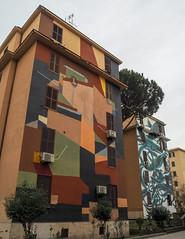 P2280913 (rob dunalewicz) Tags: 2018 italy rome roma streetart mural bigcitylife tormarancia clemensbehr pantonio italia