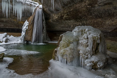 Cascade gelée (Rémi Pozzi) Tags: alpes bugey france cascade eau glace hivers montagne nature paysage rivière roche