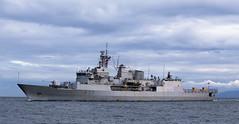 HMNZS TeKaha (Paul Rioux) Tags: marine ship boat vessel frigate hmnzs tekaha warship navy naval military newzealand clouds ocean sea prioux f77