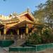 Monastery below Mahi Bodhi Tataung