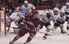 HockeyEastvNortheastern-5 (dailycollegian) Tags: umass amherst northeastern matthews arena away game loss northeast hockey east brett boeing cayden primeau