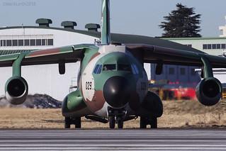 Japan Air Self Defence Force, Kawasaki C-1, 98-1029.