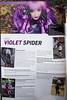 Violet_Spider at Heavy Rubber 37  (ex-Marquis) (VioletSpider) Tags: latex rubber fashion girl aliceinwonderland anastasiavolodina violetspider