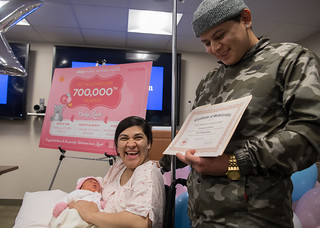 February 23, 2018 Welcoming of 700K Babies