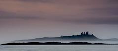 Across The Bay (ianbrodie1) Tags: embleton bay newton sea seascape ocean castle dunstanburgh old hostory ruin national trust sky cloud mist misty sillouette coast coastline northumberland northeast