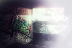 U-Bahn Station... (hobbit68) Tags: steps stufen treppen graffiti train züge