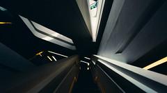 T R A N S F O R M E R (Panda1339) Tags: 28mm leicaq hk summiluxq 香港 hongkong architecture darkside staircase interior abstract shapes geometry lines