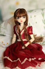 Repainted doll (Nina's Doll *MAKEUP COMMISSION CLOSED*) Tags: doll repaint repainted obitsu 24 cm taobao head ooak