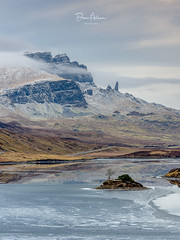 The Old Man of Storr (deanallanphotography) Tags: water sky blue nature tree art light snow clouds landscape view scenic scenery ngc