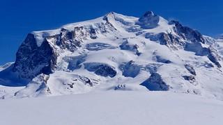 Monte Rosa, mit Dufourspitze 4634 müM der höchste Berg der 🇨🇭