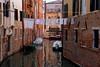 Venezia / Rio di Ghetto Nuovo / Washing drying (Pantchoa) Tags: laundryday washingdrying canal rio ghetto guettonuovo corde bateaux reflets eau façades architecture brique murs rouge venise veneto italie fenêtres freshlaundry