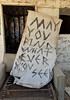 May You Find Whatever You Seek (cowyeow) Tags: salton art abandoned saltonsea old desert california usa america bombaybeach weird odd strange shack building decay house forgotten creepy composition sign cushion funnysign
