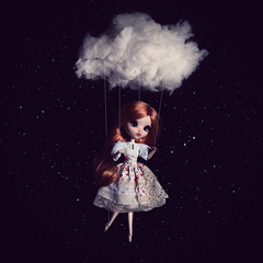 Valseuse (Zorha Nightwood) Tags: custom fullcusto doll pullip groove jun planning obitsu photoshop photo astre nuage lavolière blythe montage olympus