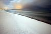 Winternacht am Strand von Warnemünde (D. W.) Tags: nacht warnemünde schnee ostsee balticsea mecklenburgvorpommern mv night snow coast