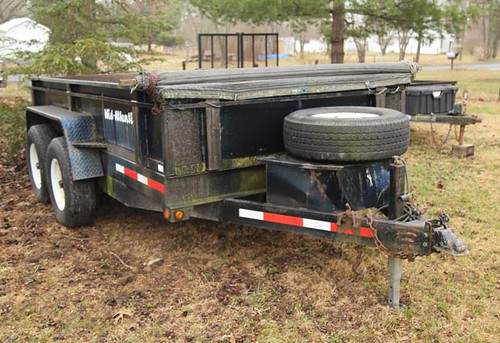 12' Mid-Atlantic Dump Trailer ($4,536.00)