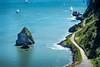 Rock (ChangingLightPhotography) Tags: beach playa goldengatebridge ocean pacific sanfrancisco northbay sausalito