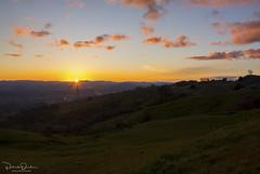 Sunset from Geysers Road (Patrick Dirden) Tags: sunset dusk clouds sun light pink purple yellow mountains mayacamamountains coastrange geysersroad thegeysers geyserville geyservilleca sonomacounty northbay bayarea northcoast northerncalifornia california