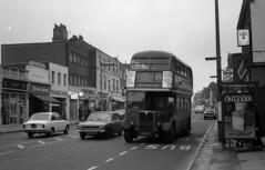 Eltham High St (DaveAFlett) Tags: aec regentiii rt londontransport lt 1970s