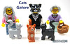 Cats Galore (WhiteFang (Eurobricks)) Tags: lego collectable minifigures series city town space castle medieval ancient god myth minifig distribution ninja history cmfs sports hobby medical animal pet occupation costume pirates maiden batman licensed dance disco service food hospital child children knights battle farm hero paris sparta historic brick kingdom party birthday fantasy dragon fabuland circus