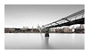 Connection (GlennDriver) Tags: black white bw mono monochrome london bridge river thames uk england blackandwhite subtle long exposure st pauls cathedral church architecture buildings