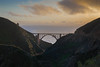 Bixby Bridge from the canyon (Mr__Twitchy) Tags: beach bigsur california canon coast coastal daytrip highway1 longexposure monterey nature northerncalifornia ocean photography roadtrip sunset tide unitedstates us bixbybridge