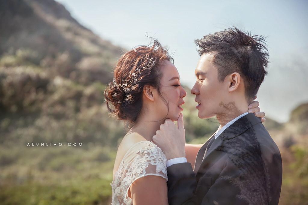 婚攝花輪Alun,林口水牛坑,造型姿讌,新屋海線,自主婚紗