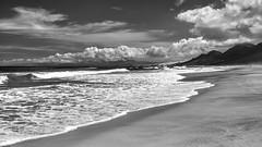 *Fuerteventura @ Playa de Cofete* (Albert Wirtz @ Landscape and Nature Photography) Tags: albertwirtz beach playa playadecofete cofete fuerteventura canaryislands kanaren kanarischeinseln spain spanien españa nikon d810 panorama landscape landschaft campo paysages paesaggi natur atlanticocean nature blackwhite schwarzweiss bw clouds sky sea morrojable hiking wandern pájara brandung gischt lapared sunshine sonnenschein sonnig sunny fineartphotography albertwirtzlandschaftsundnaturfotografie albertwirtzlandscapeandnaturephotography
