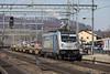 Vorsicht...Zug Durchfahrt....Gleis eins (daveymills31294) Tags: railpool 187 008 bls liestal baureihe cargo traxx