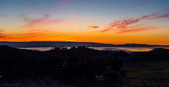 Bay view (pn.praveen) Tags: edlevinpark countypark southbay california sunset dusk panorama bay santaclara