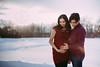 Tintu + Tony (DavinG.) Tags: 50mm albertaphotographer davingphotography davingphoto maternity tintu tony vegrevillephotographer winter