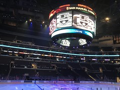 Staples Center (roopez123) Tags: arena sportsarena sports hockey ice scoreboard staplescenter losangeles losangeleskings kings
