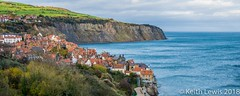 On the Edge (keithhull) Tags: robinhoodsbay village cliffs houses northsea northyorkshire