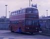 RHE449G (21c101) Tags: rhe449g leyland willowbrook leylandatlantean pdr1a1 749 yorkshiretraction devongeneral leeds busstation 1969