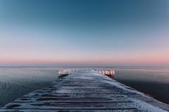 baltic sea   l   2018 (weddelbrooklyn) Tags: ostsee natur winter kalt eis gefroren steg sonnenaufgang landschaft nikon d5200 stein balticsea nature cold ice frozen sunrise bridge landingstage schleswigholstein hamburgerfotofreaks pier 44