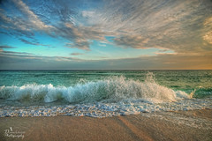 The Wave (donna.chiofolo (on and off)) Tags: nature wave poetry beauty colors action atmosphere mood moodphotography warmth gulf navarre beachlife