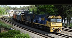 NR46-NR70-AN4 SB1 (damoN475photos) Tags: nr46 nr70 an4 exsa sb1 eastmaitland pitnacree creek road nationalrail pn nrclass 2018
