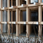 Extreme lattice exterior design museum! Kengo Kuma's one of the best works.