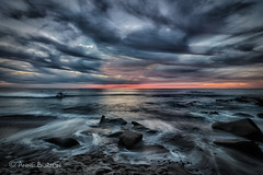 San Diego Sea (xxKnuckles) Tags: california lajolla sandiego usa beach bluehour coast colourful colours landscapephotography longexposure sea shore sunset water waves ~colour ~land ~waterelements